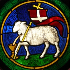 Behold: The Lamb of God, that carries the sins of the world +