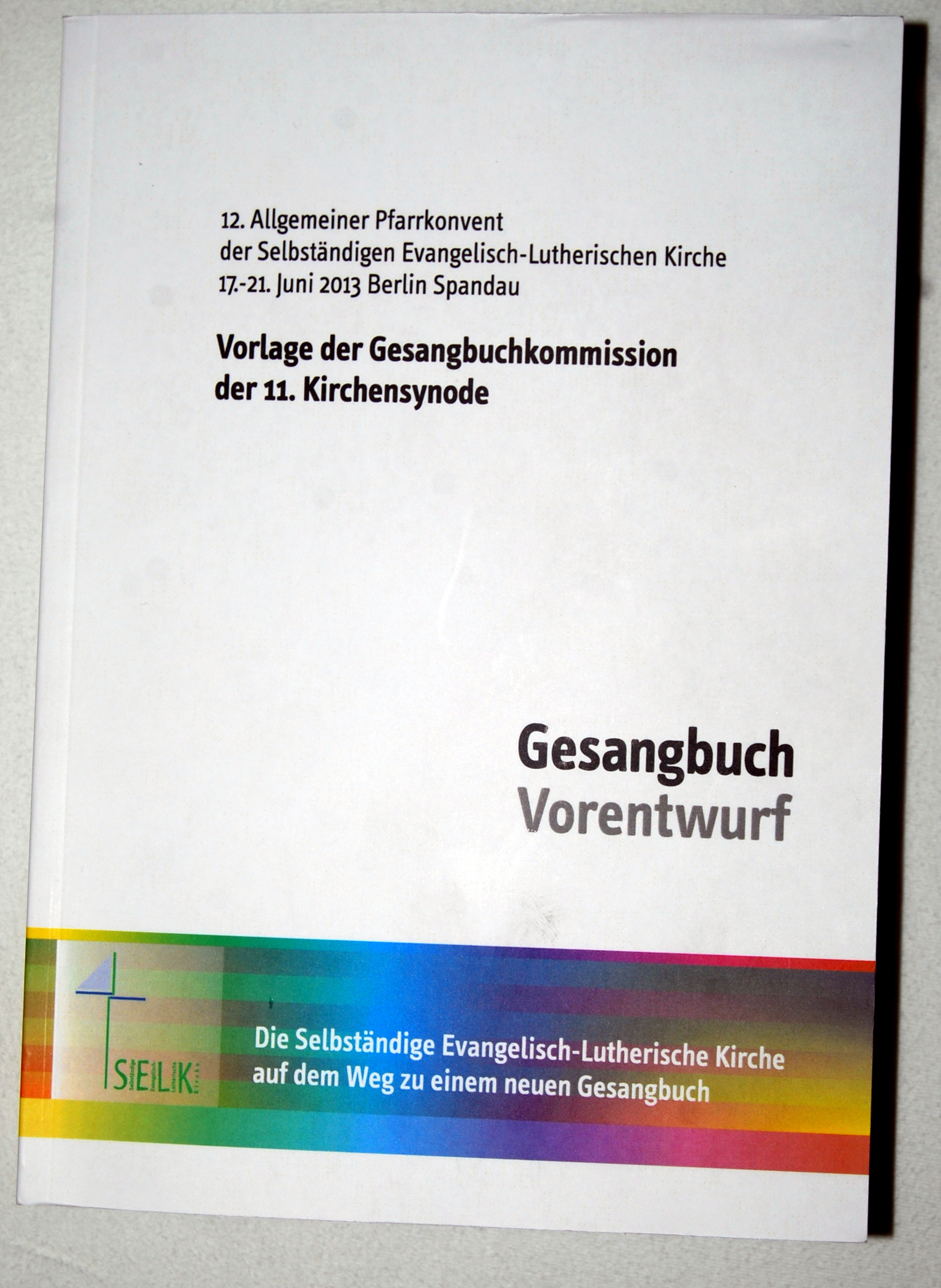 Commentary: SELK-Gesangbuch | Wilhelm\'s space