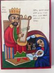 Nativity Ethiopian with King David