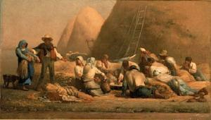 Jean-Francois-Millet-Harvesters-Resting-Ruth-and-Boaz-