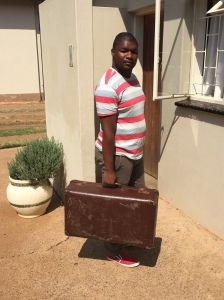 Student representative Stanley Mokone