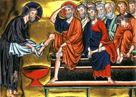 Jesus washes feet1