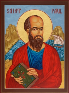 St Paul the Lord Jesus Christ's apostle and missionary to all nations.