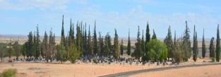 Friedhof in Namibia
