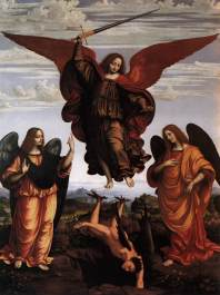 Marco_d'_Oggiono_-_The_Three_Archangels_-_WGA16632