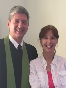 Professor Dr. Gregory Schulz and his wife Paula