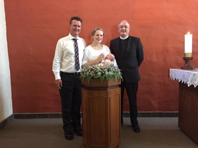 Taufe von E.B. Nelson 2016.1.10