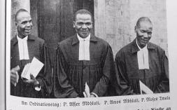 Pastors Asser & Amos Mdluli, Moses Twala