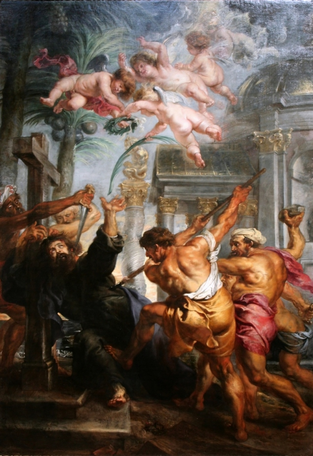 The Martyrdom of St. Thomas in India