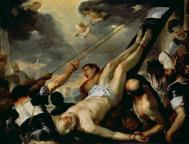 FTB61421 The Crucifixion of St. Peter; by Giordano, Luca (1634-1705); Galleria dell' Accademia, Venice, Italy; Italian, out of copyright
