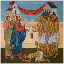 Healing of 10 lepers
