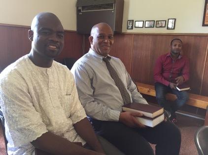 Dr Gbotoe and Dr Sithole