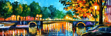 amsterdam-early-morning-leonid-afremov