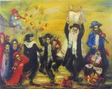 chagall Rejoicing in the law of the Lord