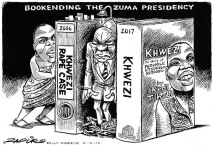 Zapiro Zuma with pants down