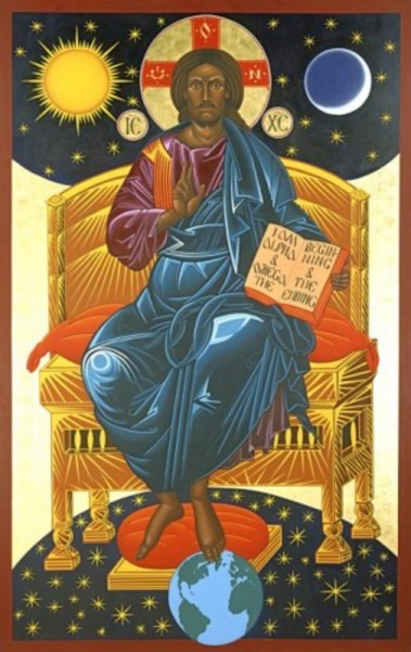 christ-enthroned-icon