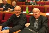 Together with Bischof Schöne in Rome