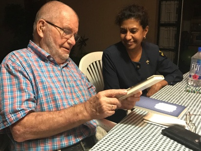 Good friends Missionary Heinrich Voges and Deaconess Grace Rao (LCMS OIM)