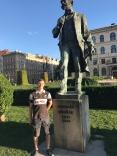 With Franz List in Prag 2017