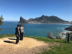 Angelika and Grace in the Cape of Good Hope 2017