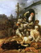 The Stoning of St Paul and St Barnabas at Lystra
