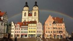 Rainbow in Wittenberg