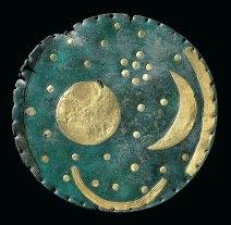 Himmelscheibe von NebraBronze und Gold, ca. 1600 v. Chr.